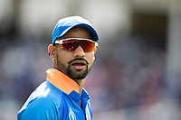 Shikhar Dhawan (India) during India vs New Zealand, ICC World Cup Warm-Up Match Cricket at the Kia Oval on 25th May 2019
