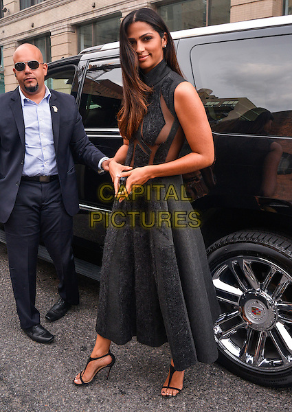 NEW YORK, NY - SEPTEMBER 8: Camila Alves attending Donna Karan's fashion show during 2014 New York Fashion Week on September 8, 2014 in New York, New York. <br /> CAP/MPI67<br /> &copy;MPI67I/Capital Pictures