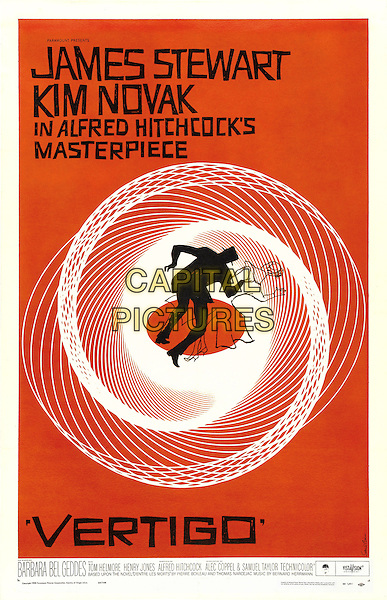 POSTER ART<br /> in Vertigo (1958) <br /> *Filmstill - Editorial Use Only*<br /> CAP/NFS<br /> Image supplied by Capital Pictures