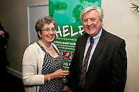 Jennifer Spencer, chief executive at Experience Nottinghamshire with husband Martin