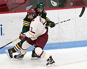 Éve-Audrey Picard (UVM - 26), Serena Sommerfield (BC - 3) -  The Boston College Eagles defeated the University of Vermont Catamounts 4-3 in double overtime in their Hockey East semi-final on Saturday, March 4, 2017, at Walter Brown Arena in Boston, Massachusetts.