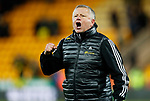 Sheffield United manager Chris Wilder celebrates in front of the away fans during the Premier League match at Carrow Road, Norwich. Picture date: 8th December 2019. Picture credit should read: James Wilson/Sportimage