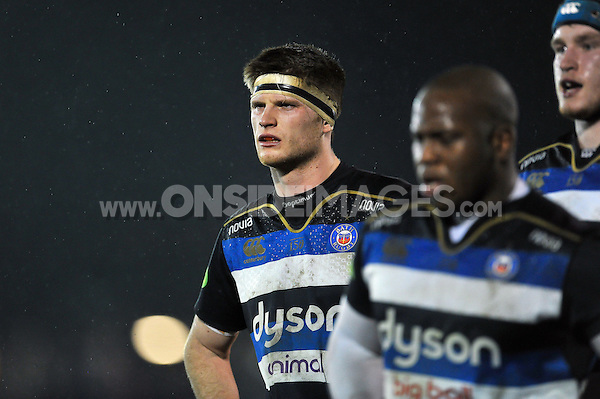 Pat Jenkinson of Bath United looks on during a break in play. Aviva A-League match, between Bath United and Bristol United on December 28, 2015 at the Recreation Ground in Bath, England. Photo by: Patrick Khachfe / Onside Images