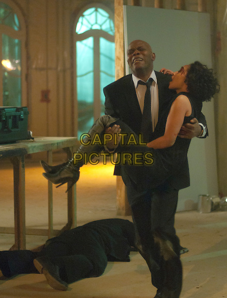 SAMUEL L. JACKSON, RUTH NEGGA.in The Samaritan (Fury).*Filmstill - Editorial Use Only*.CAP/FB.Supplied by Capital Pictures.