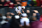 World Champion Tony Martin (GER) Team Katusha Alpecin in action during Stage 1, a 14km individual time trial around Dusseldorf, of the 104th edition of the Tour de France 2017, Dusseldorf, Germany. 1st July 2017.<br /> Picture: ASO/Alex Broadway | Cyclefile<br /> <br /> <br /> All photos usage must carry mandatory copyright credit (&copy; Cyclefile | ASO/Alex Broadway)