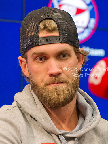 All-Star Washington Nationals right fielder Bryce Harper poses for a photo prior to the game against the New York Mets at Nationals Park in Washington, D.C. on Monday, July 3, 2017.<br /> Credit: Ron Sachs / CNP<br /> (RESTRICTION: NO New York or New Jersey Newspapers or newspapers within a 75 mile radius of New York City)