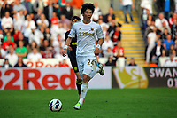 Saturday, 20 October 2012<br /> Pictured: Ki Sung Yueng of Swansea<br /> Re: Barclays Premier League, Swansea City FC v Wigan Athletic at the Liberty Stadium, south Wales.