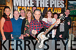 Mike the Pie's comedy Nite : Comedian Joe Rooney entertaining the patrons of Mike the Pie's Bar, Listowel on Saturday night last.