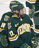 Evan Stoflet (Joey Gasparini) - The Boston College Eagles completed a shutout sweep of the University of Vermont Catamounts on Saturday, January 21, 2006 by defeating Vermont 3-0 at Conte Forum in Chestnut Hill, MA.