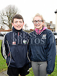 Padraic and Laura Downey who took part in the Ryan Coyle Run/Walk in Duleek. Photo:Colin Bell/pressphotos.ie