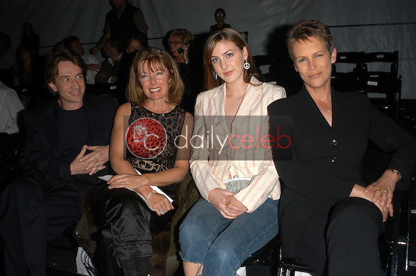 Martin Short, Nancy Dolman and Jamie Lee Curtis with Daughter Annie