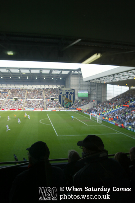 West Bromwich Albion 1 Bolton Wanderers 1, 21/03/2009. The Hawthorns, West Bromwich. Premier League. Photo by Tony Davis.