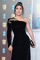 Salma Hayek<br /> arriving for the BAFTA Film Awards 2019 at the Royal Albert Hall, London<br /> <br /> ©Ash Knotek  D3478  10/02/2019