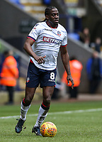 Bolton Wanderers' Clayton Donaldson <br /> <br /> Photographer Andrew Kearns/CameraSport<br /> <br /> The EFL Sky Bet Championship - Bolton Wanderers v Norwich City - Saturday 16th February 2019 - University of Bolton Stadium - Bolton<br /> <br /> World Copyright © 2019 CameraSport. All rights reserved. 43 Linden Ave. Countesthorpe. Leicester. England. LE8 5PG - Tel: +44 (0) 116 277 4147 - admin@camerasport.com - www.camerasport.com