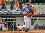22 March 2015: Houston Astros outfielder Robbie Grossman in Spring Training action against the Pittsburgh Pirates at Osceola County Stadium in Kissimmee, Florida. The Astros defeated the Pirates 14-2 in Grapefruit League play. Mandatory Credit: Ed Wolfstein Photo *** RAW (NEF) Image File Available ***