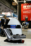 Arm Robot poses for a demonstration at the International Robot Exhibition in Tokyo on November 27, 2009. Some 200 robot companies and institutes exhibit their latest robot technologies at a four-day exhibition (photo Laurent Benchana/Nippon News).