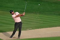 Alexander Levy (FRA) on the 3rd during Round 2 of the Omega Dubai Desert Classic, Emirates Golf Club, Dubai,  United Arab Emirates. 25/01/2019<br /> Picture: Golffile | Thos Caffrey<br /> <br /> <br /> All photo usage must carry mandatory copyright credit (© Golffile | Thos Caffrey)