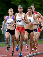 18 MAY 2008 - LOUGHBOROUGH, UK - 3000m Steeplechase - Jo Ankier - Loughborough International Athletics. (PHOTO (C) NIGEL FARROW)