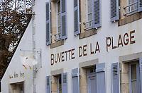 Europe/France/Bretagne/29/Finistère/Le Pouldu: Maison Marie-Henry - Buvette de la plage ou se retrouvaient le speintres impréssionnistes de l'école de Pont Aven