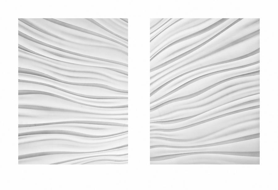 Waves Diptych III