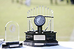 11 November 2007: The Atlantic Coast Conference Women's Soccer Championship Trophy (right) and Most Valuable Player award (left). The University of North Carolina defeated Florida State University 1-0 at the Disney Wide World of Sports complex in Orlando, FL in the Atlantic Coast Conference Women's Soccer tournament final.
