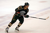 February 24th 2008:  Petr Kalus (15) of the Houston Aeros skates up ice during a game vs. the Rochester Amerks at Blue Cross Arena at the War Memorial in Rochester, NY.  The Aeros defeated the Amerks 4-0.   Photo copyright Mike Janes Photography 2008