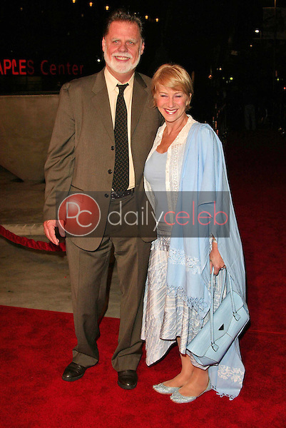 Taylor Hackford and Helen Mirren