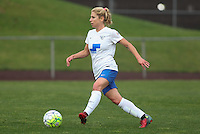 Piscataway, NJ, May 13, 2016. Boston Breakers midfielder McCall Zerboni (77) dribbles the ball. Sky Blue FC defeated the Boston Breakers, 1-0, in a National Women's Soccer League (NWSL) match at Yurcak Field.