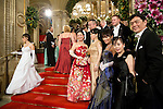 May0060348 . Daily Telegraph<br /> <br /> The Vienna Opera Ball, an annual Austrian society event which started in 1935 but was suspended during WWII .<br /> Tickets to the ball start at &euro;270 and a box in the Opera House costs more than &euro;20,000.<br /> It is one of the most exclusive events in the Viennese social calendar and is always kicked off with 186 debutantes and their partners dancing the opening waltz but also attracts celebrities from across the globe .<br /> <br /> Vienna 12 Feb 2015
