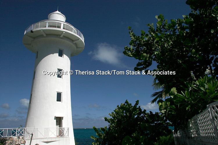 Solomons Lighthouse, New Providence Island, Bahamas