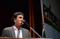 SAO PAULO, 12 DE JULHO DE 2012 - ELEICOES 2012 CHALITA -  O deputado federal Gabriel Chalita comparece em encontro com 400 candidatos a prefeito e vice do PMDB, que marca a largada da campanha no Estado de SP, no Hotel Maksoud Plaza, regiao central da cpaital na tarde desta quinta feira.FOTO: ALEXANDRE MOREIRA - BRAZIL PHOTO PRESS