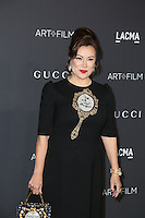 LOS ANGELES, CA - OCTOBER 29: Jennifer Tilly attends the 2016 LACMA Art + Film Gala honoring Robert Irwin and Kathryn Bigelow presented by Gucci at LACMA on October 29, 2016 in Los Angeles, California. (Credit: Parisa Afsahi/MediaPunch).
