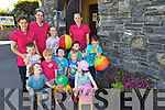 Pictured are children who attended Little Voyagers Summer Camp held in Ardfert Community Centre on Thursday last were l-r: Blain Hickey Charlie Lyons Ryan Fealy Rory Clifford, Adam O'Halloran, Jack Hickey, Jake Clifford, Ali Russell and Jack Moriarty. Back l-r: Mags Looney, Marie Therese Healy, Eva Healy and Tara O'Halloran.