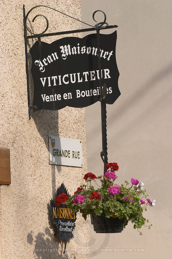 Jean Maisonnet. The village. Pommard, Cote de Beaune, d'Or, Burgundy, France