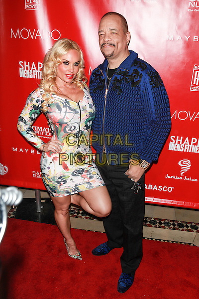 New York, NY- January 31: Nicole 'Coco' Austin and Ice T at Shape &amp; Men's Fitness Kickoff Party at Cipriani 42nd Street on January 31, 2014 in New York City.  <br /> CAP/MPI/COR<br /> &copy;Corredor99/ MediaPunch/Capital Pictures
