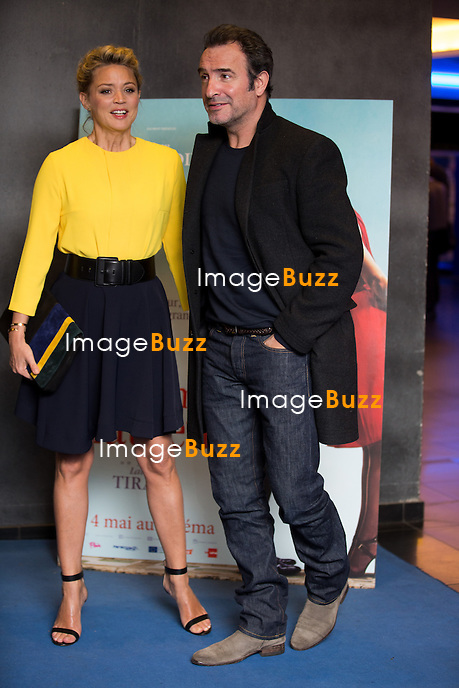Jean Dujardin et Virginie Efira &agrave; l'avant - premi&egrave;re du film &quot; Un homme &agrave; la Hauteur &quot;, &agrave; l' UGC De Brouck&egrave;re, &agrave; Bruxelles.<br /> Belgique, Bruxelles, 25 avril 2016<br /> Jean Dujardin &amp; Virginie Efira attend the Movie Premiere of ' Un homme &agrave; la Hauteur ', &agrave; the UGC De Brouck&egrave;re, in Brussels.<br /> Belgium, Brussels, 25 April 2016