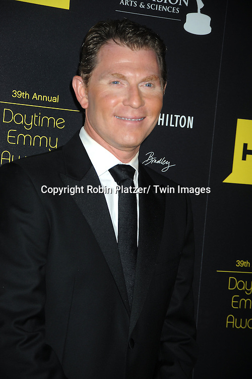 Bobby Flay attends the 39th Annual Daytime Emmy Awards on June 23, 2012 at the Beverly Hilton in Beverly Hills, California. The awards were broadcast on HLN.
