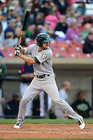 Beloit Snappers outfielder Ryan Mathews #1 during a game against the Kane County Cougars on May 26, 2013 at Fifth Third Bank Ballpark in Geneva, Illinois.  Beloit defeated Kane County 6-5.  (Mike Janes/Four Seam Images)