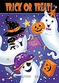 Janet, CUTE ANIMALS, halloween, paintings+++++,USJS409,#ac#