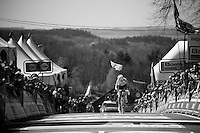 Anna van der Breggen (NLD/Rabobank-Liv) wins up the infamous Mur de Huy for a 2nd year in a row<br /> <br /> Fl&egrave;che Wallonne 2016