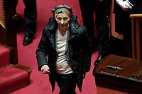 Emma Bonino<br /> Roma 23/03/2018. Prima seduta al Senato dopo le elezioni.<br /> Rome March 23rd 2018. Senate. First sitting at the Senate after elections.<br /> Foto Samantha Zucchi Insidefoto