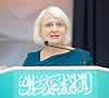 Siobhan McDonagh Labour candidate for  Mitcham &amp; Morden speaks at the Baitul Futuh Mosque, at an event to commemorate the establishment of The Ahmadiyya Caliphate, a non-political caliphate established on May 27, 1908. &nbsp;<br /> <br /> Following on from the tragic events in Manchester, Ed discussed the events in Manchester and reasserted the importance of traditional liberal values in defeating extremism.&nbsp;<br /> <br /> 27th May 2017 <br /> at the Baitul Futuh Mosque, Morden, Surrey <br /> <br /> <br /> Photograph by Elliott Franks <br /> Image licensed to Elliott Franks Photography Services