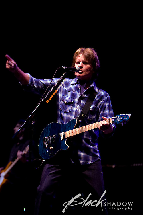 John Fogerty rocking the Point Nepean Music Festival, 22 March 2008