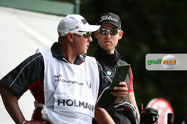 Nathan Holman (AUS) during Round Two of the 2016 BMW PGA Championship over the West Course at Wentworth, Virginia Water, London. 27/05/2016. Picture: Golffile   David Lloyd. <br /> <br /> All photo usage must display a mandatory copyright credit to &copy; Golffile   David Lloyd.