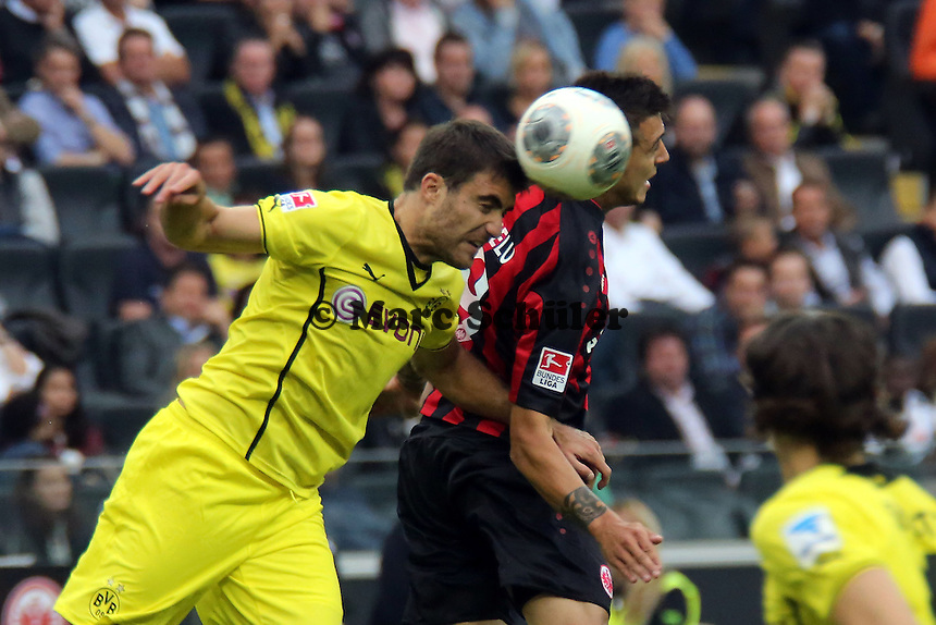 Sebastian Kehl (BvB) gegen Joselu (Eintracht) - Eintracht Frankfurt vs. Borussia Dortmund