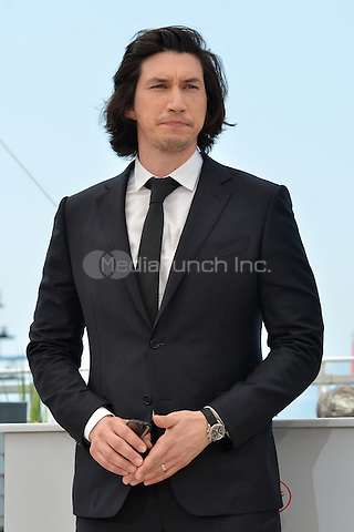 Adam Driver at the Photocall 'Paterson' - 69th Cannes Film Festival on May 16, 2016 in Cannes, France.<br /> CAP/LAF<br /> &copy;Lafitte/Capital Pictures /MediaPunch ***NORTH AND SOUTH AMERICA ONLY***