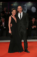 "VENICE, ITALY - SEPTEMBER 05: Gina Gardini, Filippo Nigro walk the red carpet of the ""ZeroZeroZero"" screening during the 76th Venice Film Festival at Sala Grande on September 05, 2019 in Venice, Italy. (Photo by Mark Cape/Insidefoto)<br /> Venezia 05/09/2019"