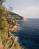 CROATIA, Dubrovnik, view of sea at Dalmatian coast