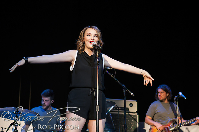 Abi Ann performs at Xfinity Center July 12, 2015
