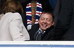 Billy Davies watching Rangers